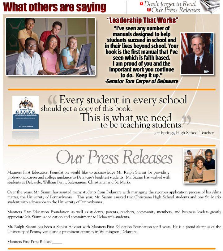 Delaware educational programs